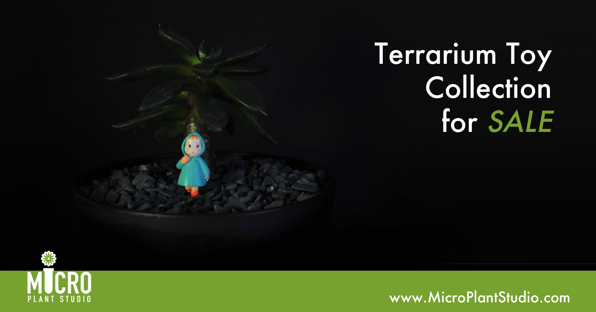 Terrarium Toy Collections Micro Plant Studio
